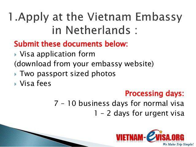 How to get a Vietnam visa in Netherlands | Vietnam-Evisa.Org - Discou…