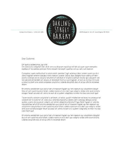 10 best Bakery Letterhead images on Pinterest | Bakeries ...