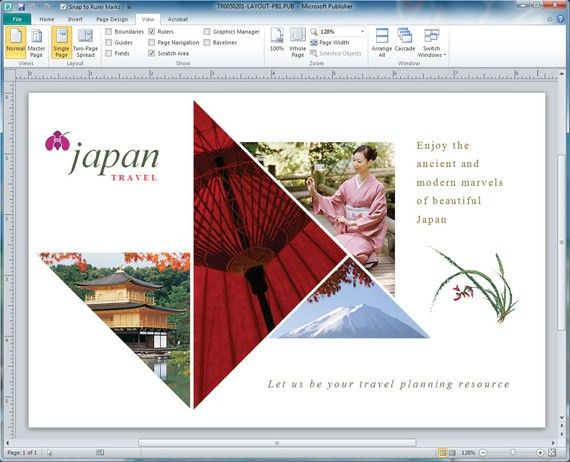 Fill Shapes with Pictures in Microsoft Publisher | StockLayouts Blog