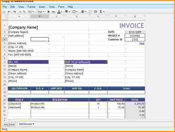 6+ invoice template google docs | Invoice Template Download