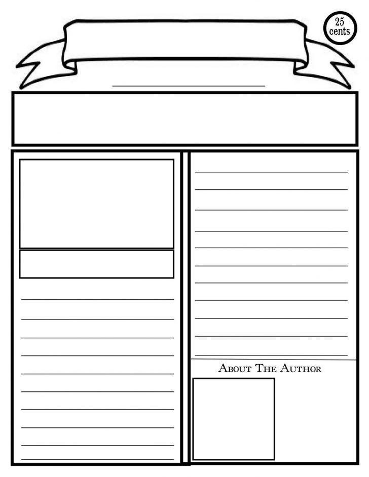 Free Printable Blank Brochure Templates | pikpaknews