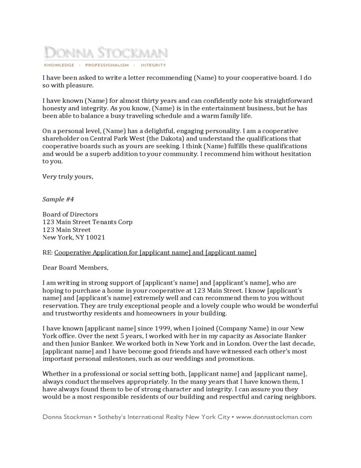 Itinerary Letter Format