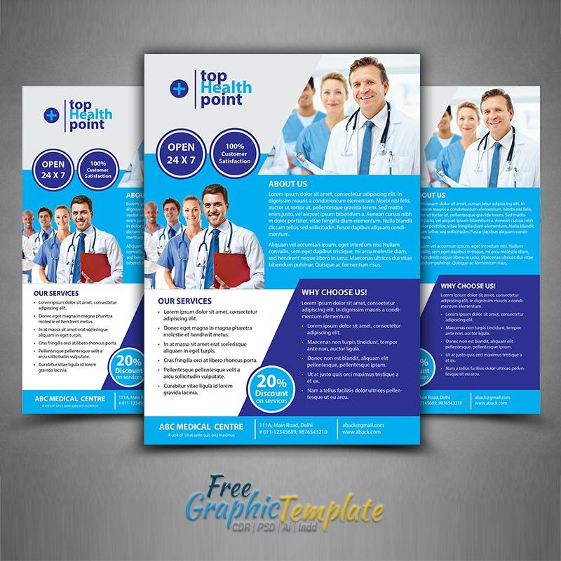 Medical Flyer Template -