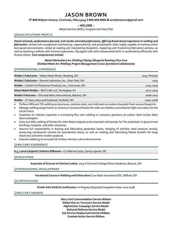 Maintenance Resume Examples - Resume Professional Writers