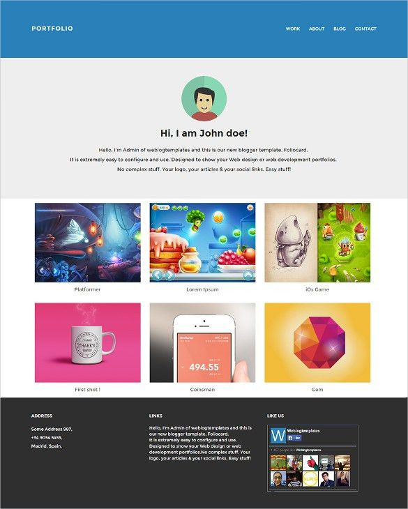 44+ Professional Blog Themes & Templates | Free & Premium Templates