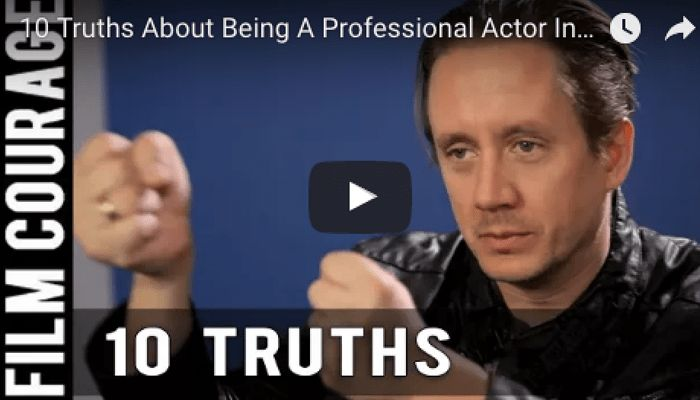 10 Truths About Being A Professional Actor In Hollywood by Chad ...