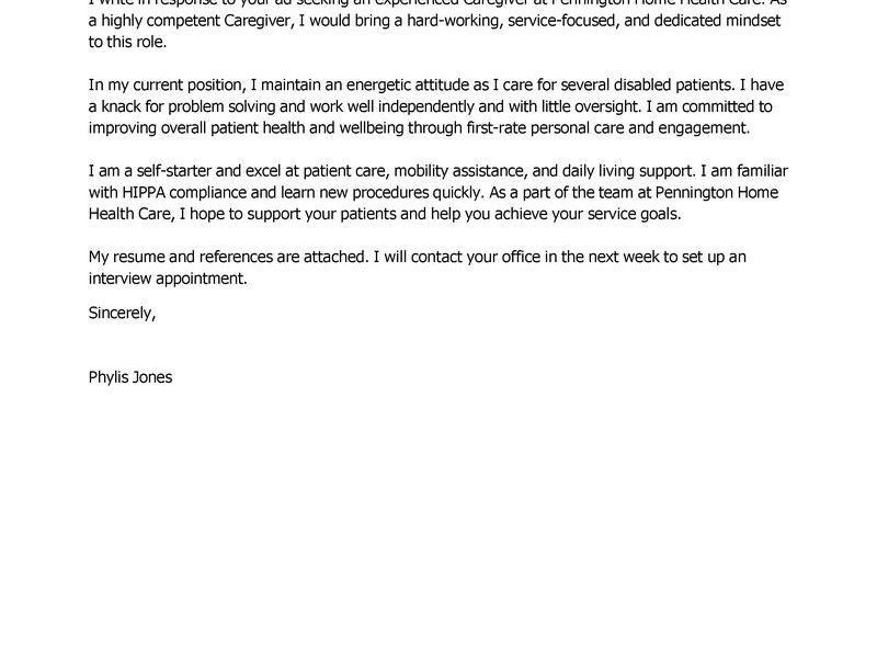 My Perfect Cover Letter [Template.billybullock.us ]