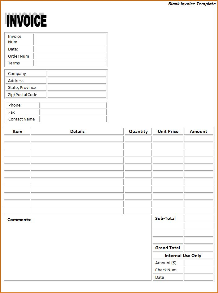4+ free blank invoice | teknoswitch