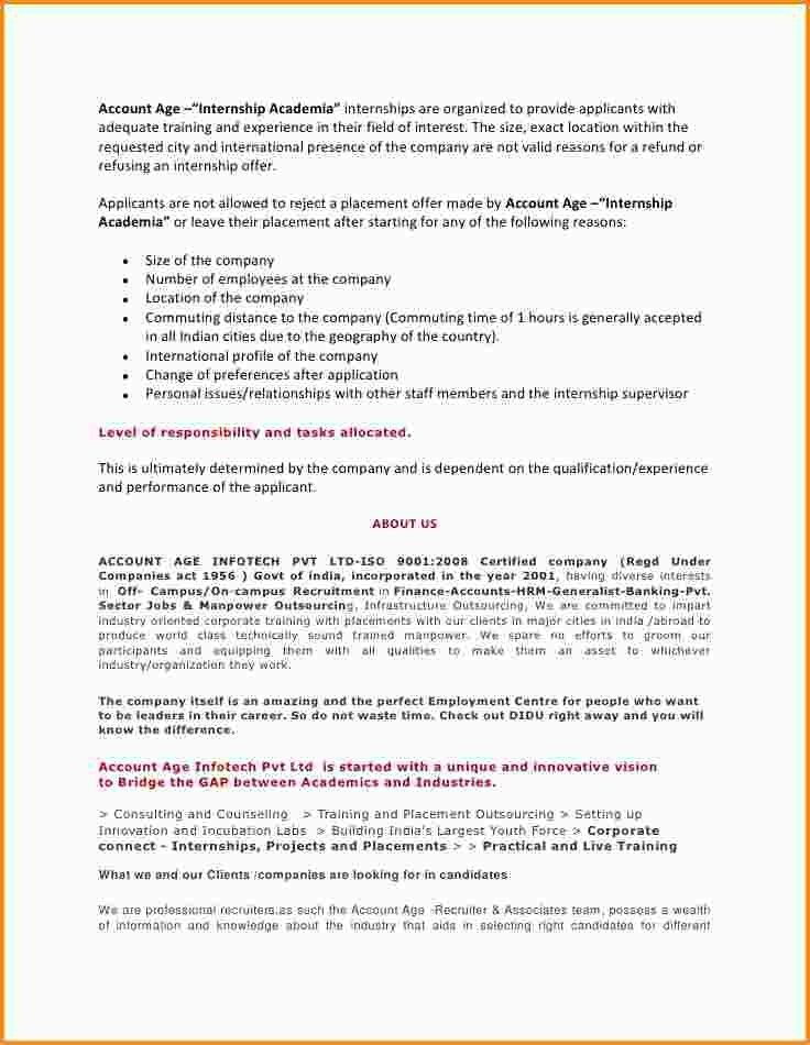 12+ letter of intent for internship | mac resume template