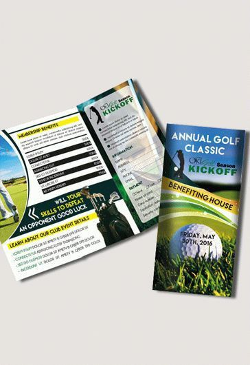 Golf Cup Brochure Pack – Free PSD Template – by ElegantFlyer