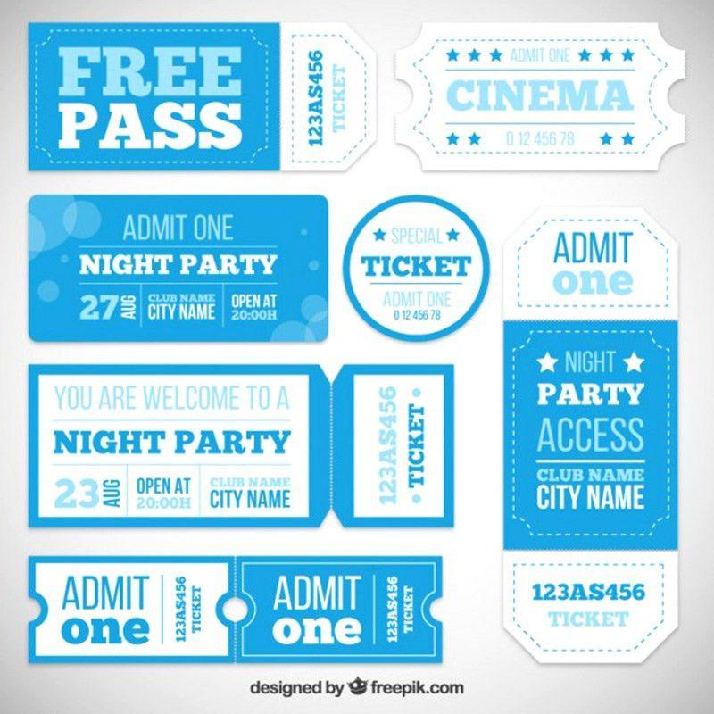 15+ Free Event Ticket Mockups – Mockup Depot