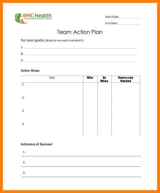Health Plan Template. Wellness Toolbox: Plan For Life Sample ...