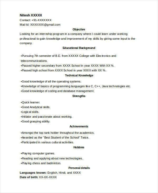 Perfect Resume Format. Business Resume Format Proficient Resume ...