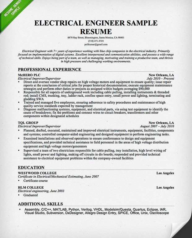 Download Hardware Design Engineering Sample Resume ...