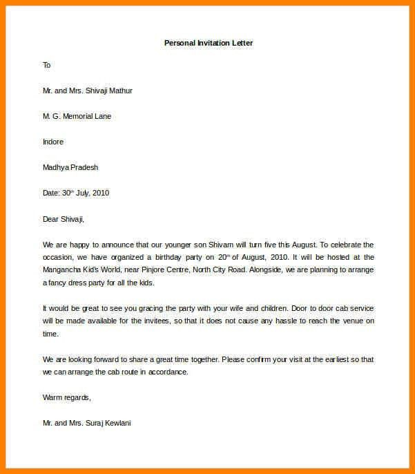 Resume Cover Letter Word Template. 7+ Letter Format Personal ...