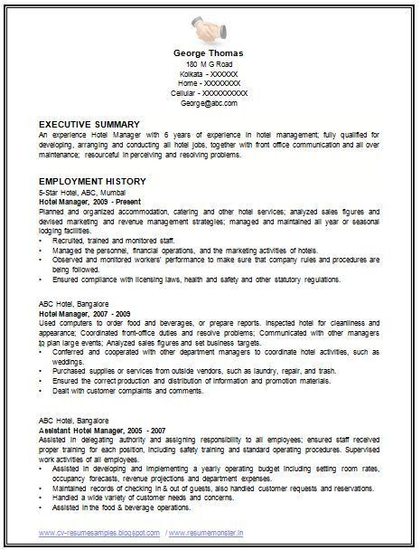 chronological resume example a chronological resume lists your ...