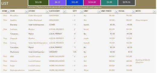 Price List Format – Printable Samples