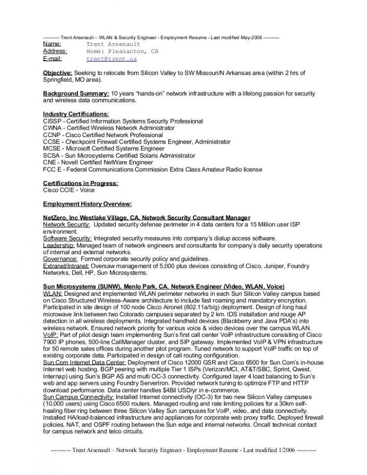 Download Security Engineer Sample Resume | haadyaooverbayresort.com