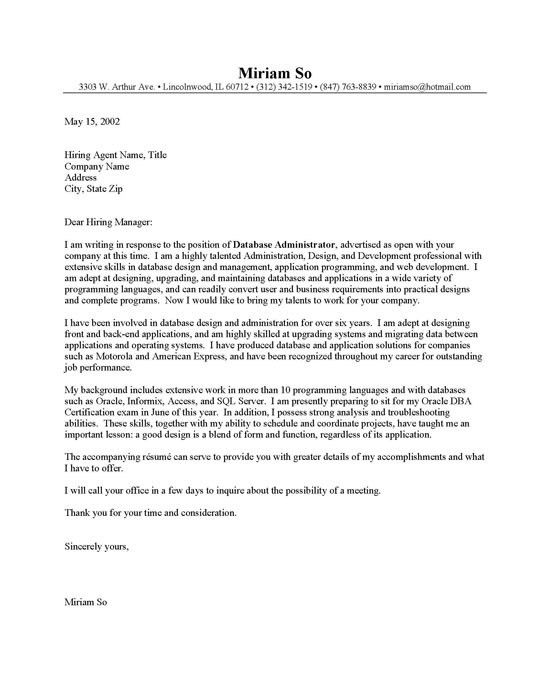 cover letter administrative cover letter sample administrative. 5 ...