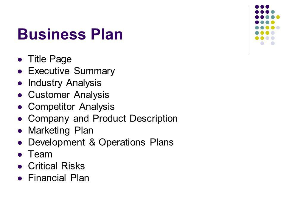 Business Plans Marketing - ppt video online download
