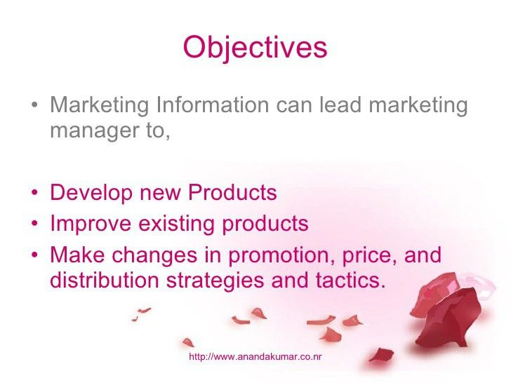International Marketing Information System