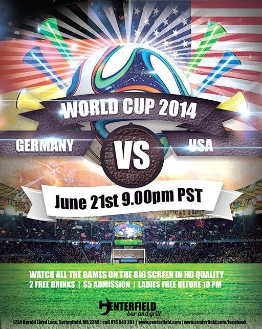 Free 2014 World Cup Templates on Behance
