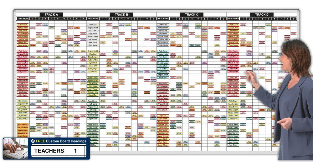 YearRound™ Teacher / Track Schedules