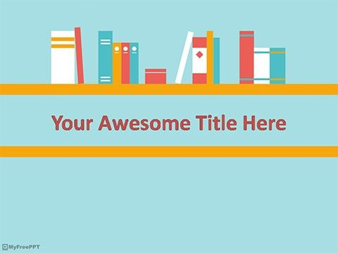 Free Library PowerPoint Templates - MyFreePPT.com