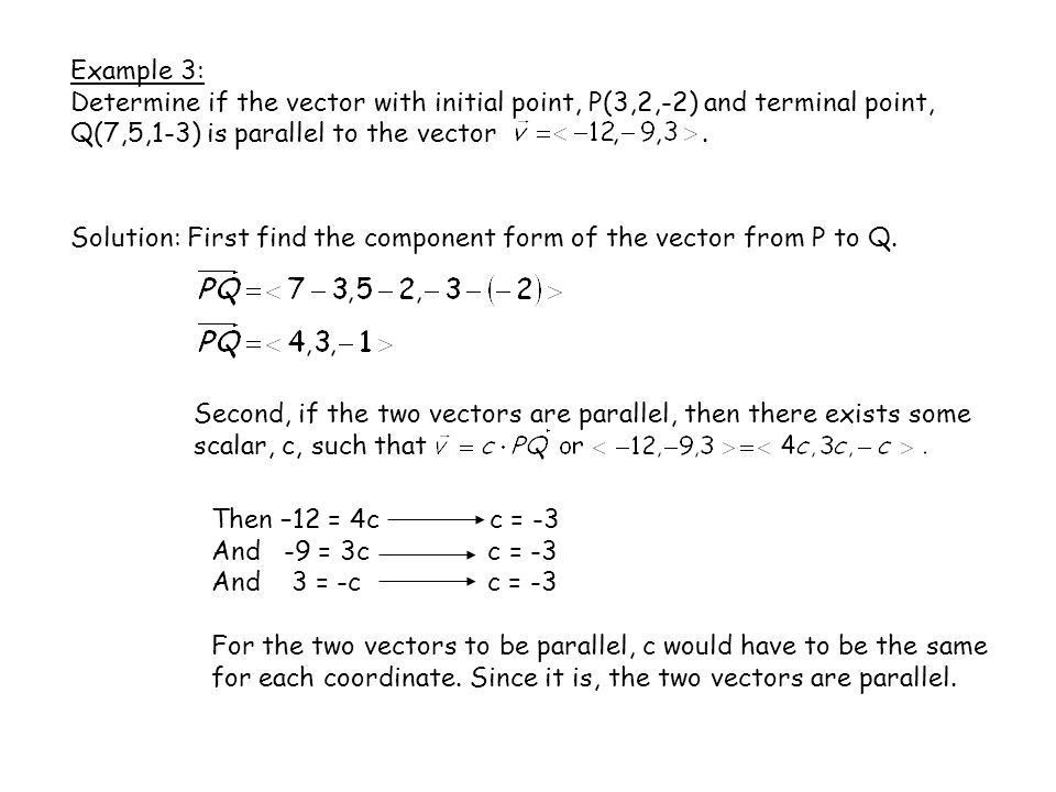 Chapter 7: Vectors and the Geometry of Space - ppt video online ...