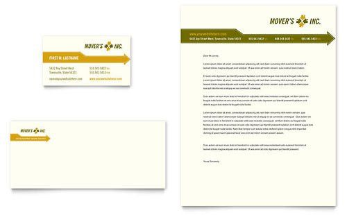 Movers & Moving Company | Letterhead Templates | Automotive ...