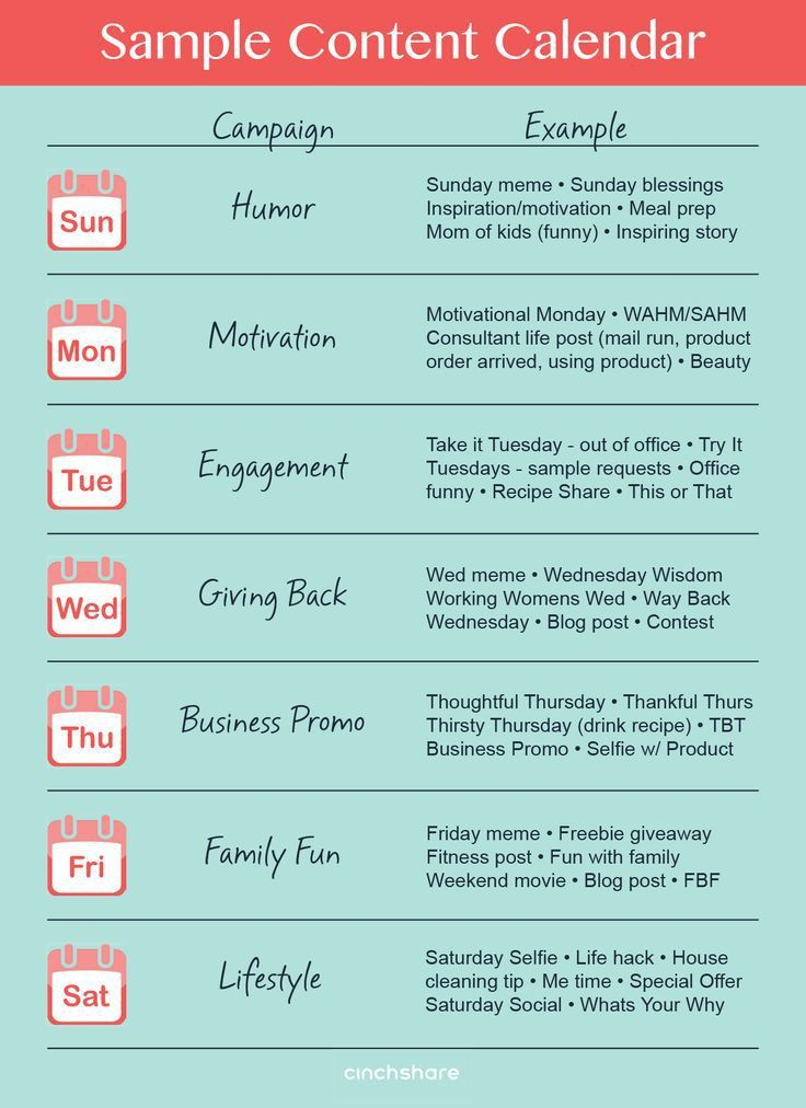 Best 25+ Social media calendar ideas that you will like on ...
