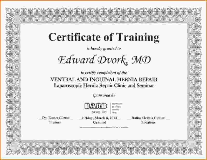 Certificate Of Training.Certificate Of Training.jpg - Loan ...