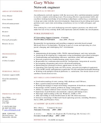 clever network engineer resume sample job and template junior ...