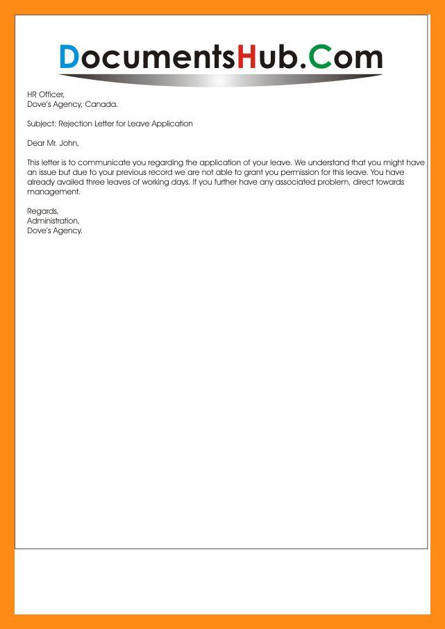 8+ letter of decline proposal | actor resumed