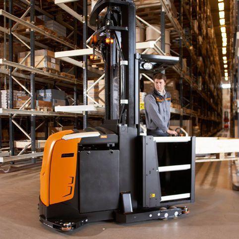Forklift order-picker / high-level / vertical - PHS, PHX series ...