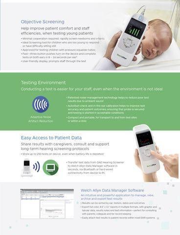 Welch Allyn OAE Hearing Screener - Next Generation – Med-Resource ...