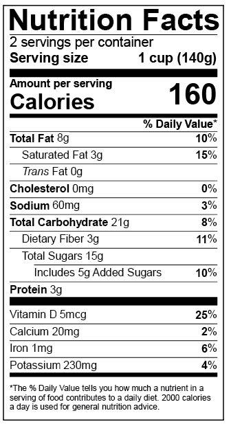 Genesis R&D Version 11.1 + New FDA Nutrition Facts Labels | ESHA ...