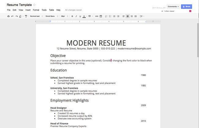 Resume Templates For High School Students With No Work Experience ...