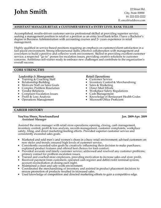 ron smith retail sales presentation template resume samples for ...