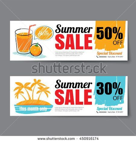 Coffee Coupon Discount Template Design Stock Vector 283080122 ...