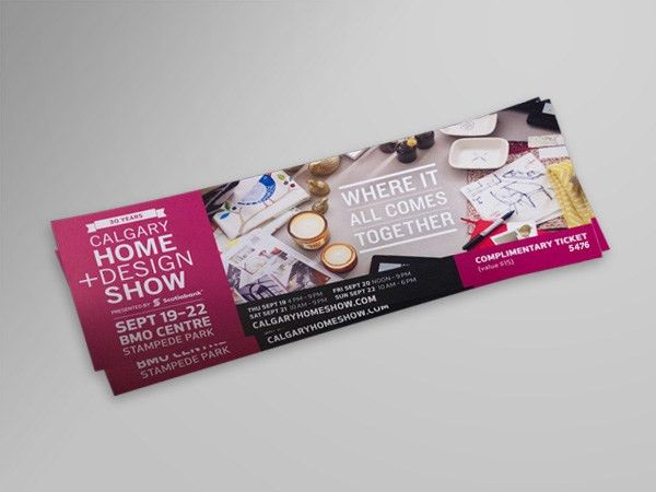 Event Tickets | Vinyl Sticker Printing Online - PrintingTheStuff ...
