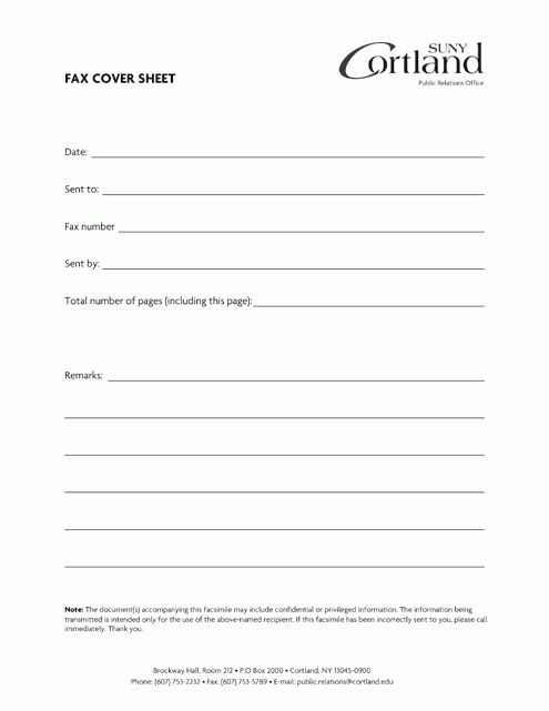 Cover Sheet Template.standard Fax Cover With Standard Format.jpg ...