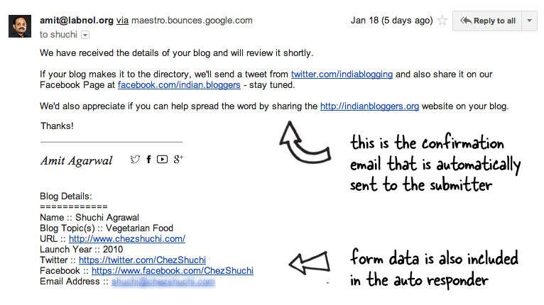 Google Forms Autoresponder - How to Send Confirmation Email to ...