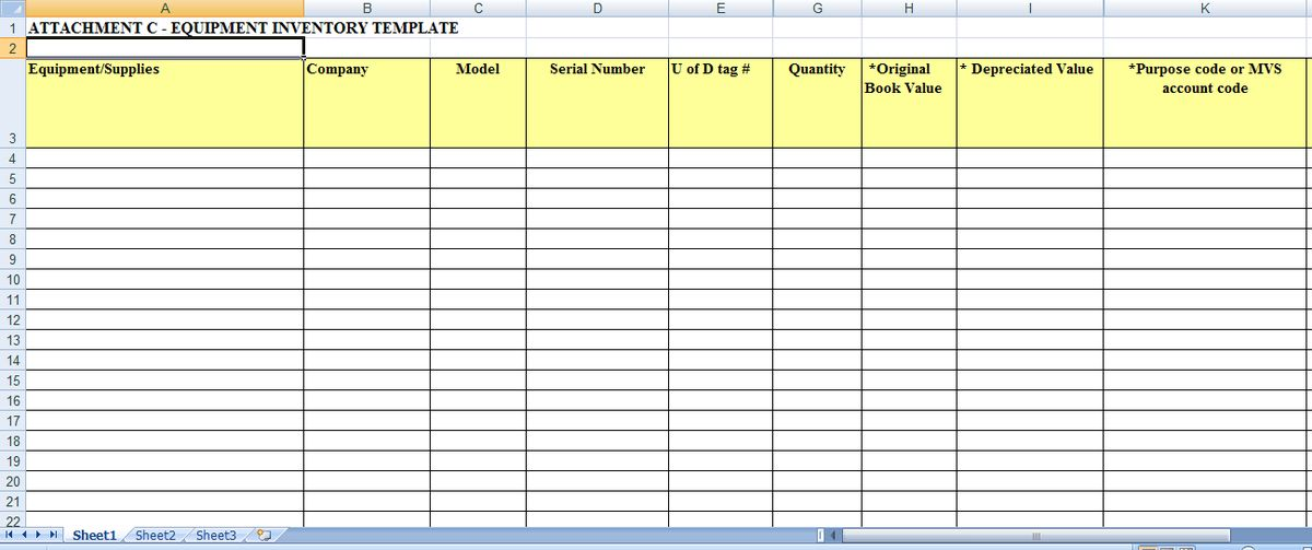 6 Excel Inventory Templates - formats, Examples in Word Excel