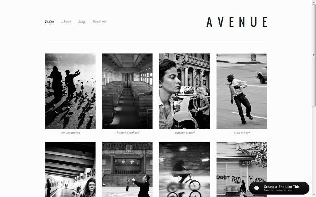 Best Folio Sites for Photographers - Notes on Design