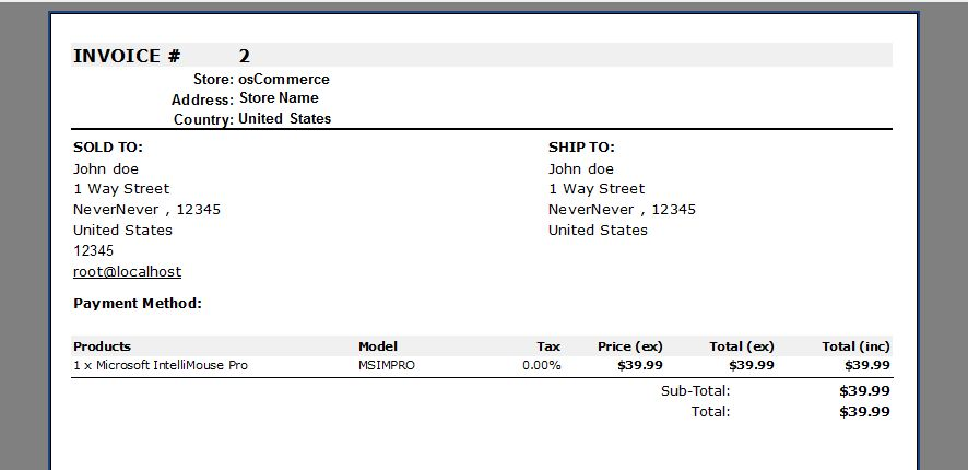 5. Order Details, Invoice and Packing Slip Reports - Store Manager ...