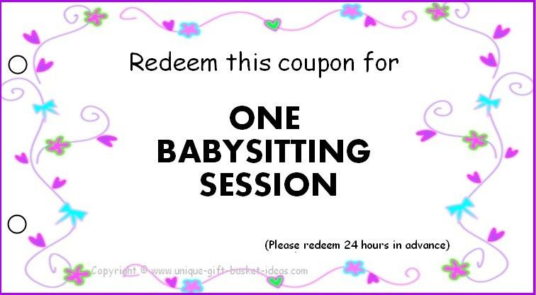 One day or night of babysitting | Printables | Pinterest ...