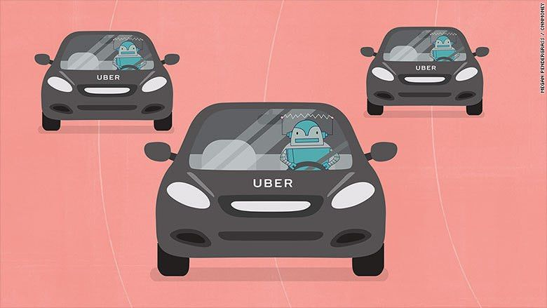 Is Uber's push for self-driving cars a job killer? - Aug. 19, 2016
