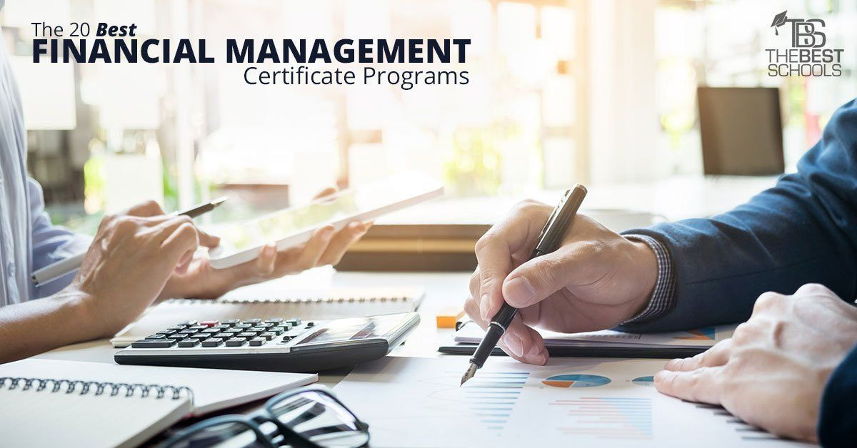 The 20 Best Financial Management Certificate Programs | The Best ...