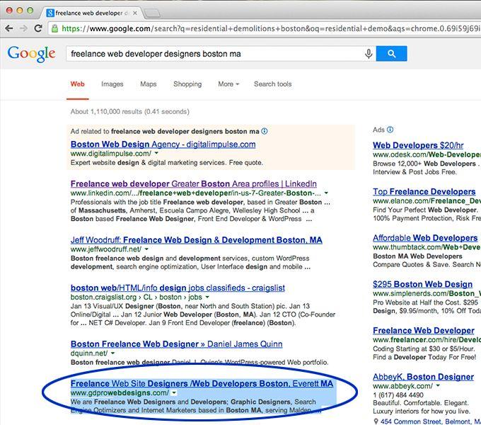 Boston Search Engine Optimization Company | Freelance Internet ...